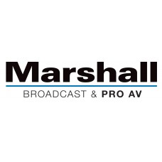 Marshall CV225-MB IP67 Weatherproof Lipstick-Style Broadcast Camera with 3.6mm Interchangeable Lens - 3G/HD-SDI Output (NTSC)